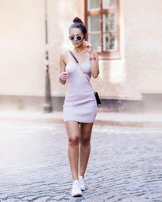 inspiração - Look com tênis branco ♡