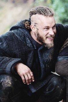"""""""Ragnar Lothbrok"""" - Travis Fimmel  (Why is he so fucking perfect!?!? Please let me find a man like him...)"""