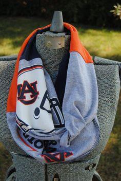Auburn University Football Upcycled TShirt by SeasonedWithStyle, $12.50