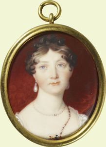 Minny, the fourth daughter, who became Duchess of Gloucester and outlived them all, from #georgian england to #victorian.