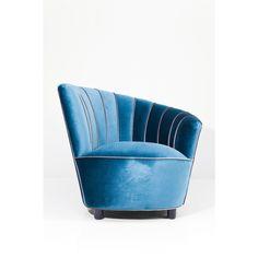 Inspirational Ausstellungsst cke KARE Sessel Pipe Blue Aussteller