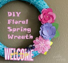 Easy DIY Floral Spri