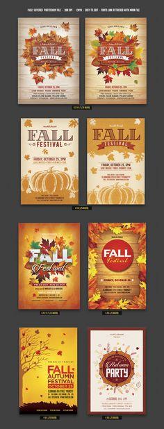 Fall Flyer Bundle – only $15 | Master Bundles http://masterbundles.com/downloads/fall-flyer-bundle-only-15/