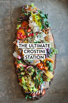 crostini station | designlovefest