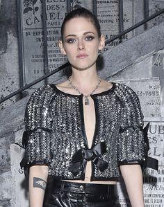 Kristen Stewart au défilé Chanel à Rome