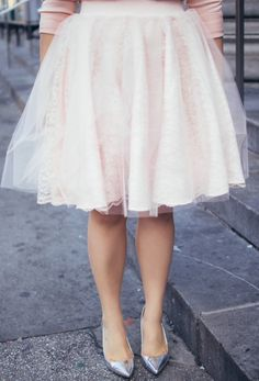 Blush Lace Tulle | A Sequin Love Affair
