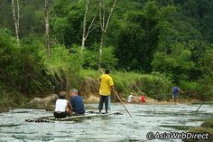 Elephant Riding and Bamboo Rafting