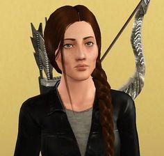 Katniss Everdeen as a Sim :)