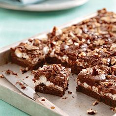 Great Wickedly Delicious Chocolate Desserts Recipes - Southern Living pic #Chocolate #Desserts