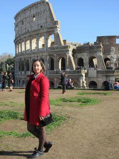 Carnet de voyage à Rome Le Colisée