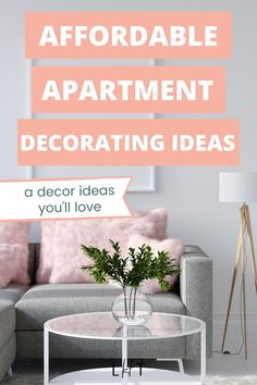 This article has a very detailed list of smart and cheap ways for your rental apartment decorating project! Already saved this. I'm so excited to start decorating my living room. I was initially worried thinking that I will have difficulty finding low budget rental-friendly decor ideas. Love the decorative trays! I already ordered 2. Couples First Apartment, First Apartment Tips, First Apartment Essentials, Cute Apartment, Apartment Checklist, Apartment Cleaning, Apartment Decorating On A Budget, Decorative Trays, Home Decor Pictures