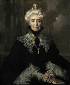 Mrs Adeline M. Noble - Francois Flameng 1903