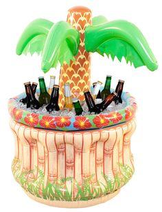 #Drink og Coctail - Oppblåsbar Partykjøler - Palmetre - 67cm. Kun kr 219,00 NOK - Partykjøler med palme  67cm høy. Her har du palmepartykjøleren i en miniutgave  en svært populær oppblåsbar partykjøler.Den kan kjøle ned ca. 24stk 0.33 bokser, og kan tas med hvor det skal være enten på verandaen, på hytta, i båten (!), på øya, på campingen, på stranda eller på hawaifesten.Den kan brukes igjen og igjen. Og når festen, eller eventuelt ferien er over, trenger du ikke å rydde plass i garasjen. Den f Gadgets, Cool Kids, Flamingo, Snow Globes, Presents, Christmas Ornaments, Halloween, Holiday Decor, Outdoor Decor