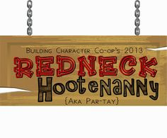 SUBLIMEliving: Family Redneck Hootenanny Party: A night of Games, Food & Fun