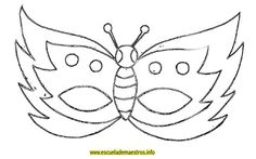 Best Carnival coloring pages. Carnival Crafts, Carnival Masks, Butterfly Mask, Butterfly Template, Mask Drawing, Felt Mask, Halloween Embroidery, Mask Template, Mask For Kids