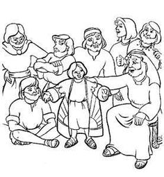 Image detail for -people inside them joseph coat of many colors coloring pages