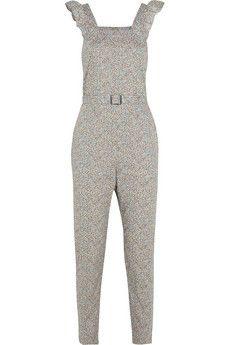 A.P.C. Atelier de Production et de Création Irina Liberty-print cotton jumpsuit | NET-A-PORTER
