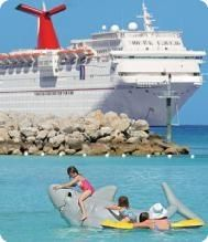 Carnival Cruise Lines--taken cruises to Bahamas, Nova Scotia, and Western Caribbean.  Lots of fun on all cruises!