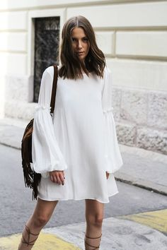 Floaty, etherial sleeves à la Chloe in Paris