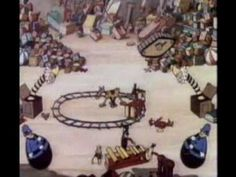 """""""Santa's Workshop"""" - Very cute look at the North Pole and Santa's workshop. Such films were made in the early third of the 20th century when Santa legends were still being created."""