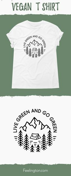 34d3346e49 Vegan T-shirts · Be healthy, fit, shiny and helpful for our planet! Go  Green! Share