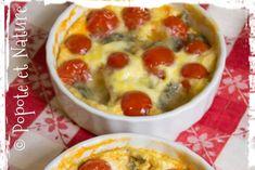 Tartelettes aux tomates cerise et gorgonzola