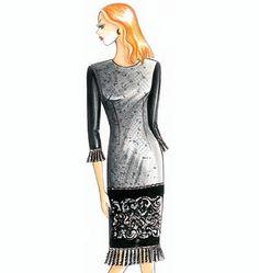 F2891, Marfy Dress