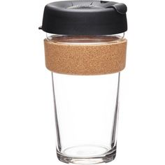 KEEPCUP Espresso reusable coffee cup large 454ml (£18) ❤ liked on Polyvore featuring home, kitchen & dining, drinkware, coffee cup, reusable coffee cup and espresso coffee cups