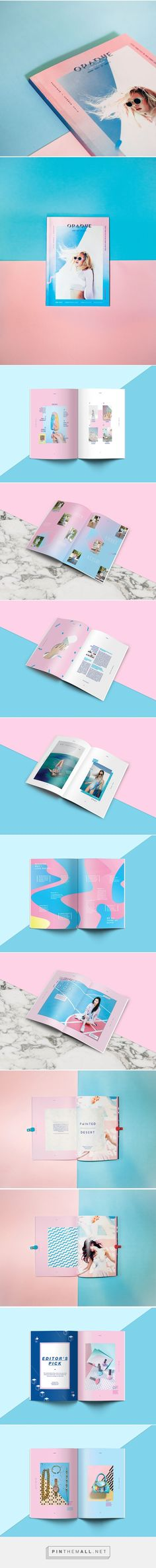 Magazine design: OPAQUE by Widya Widya