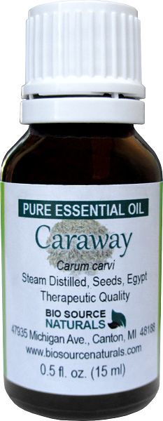 Caraway Essential Oil - The Underrated Oil - great for gas, colic, and mental clarity. Antispasmodic, antiseptic, and disinfectant.  And much more! #aromatherapy