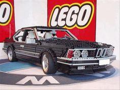 Two of my favorite things in life, combined: cars & Legos Lego Technic, Lego Toys, Lego Duplo, Legos, Lego Universe, Van Lego, Lego Boards, Amazing Lego Creations, Lego Design