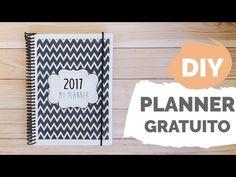 DIY | PLANNER 2017 - Baixe grátis | Por GavetaMix