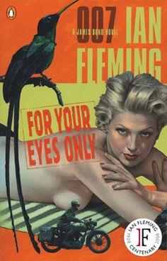 Classic James Bond Book Art.