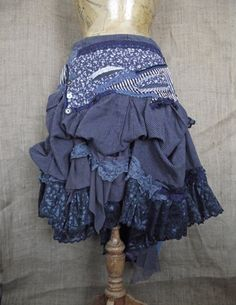 Hitch+skirt+by+NaturallyBohemian+on+Etsy,+£86.00