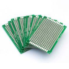 86036 Trasporto libero 10 pz Double Side PWB del Prototipo fai da te Universale Printed Circuit Board 4x6 cm vendita Calda