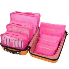 Hopsooken Travel Organizer Luggage Compression Pouches. · FUNCTION:Easy to washable, prevent bacterial growth, smell reduction, reasonably arrange luggage space to make your life more convenience. · MATERIAL: High quality waterproof coating fabric and waterproof polyester mesh,highly durable, waterproof, dustproof. | eBay!