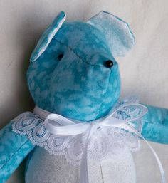 Tovah the Little Teddy Bear by ellemardesigns on Etsy, $10.00