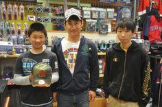 【大阪店】 2014年5月3日 MLBファンのご家族です!ヤンキースのキャップをご購入いただきました!
