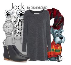 """Jock"" by leslieakay ❤ liked on Polyvore featuring Fevrie, MICHAEL Michael Kors, Bling Jewelry, Givenchy, Fine Collection, Loeffler Randall, disney, disneybound and disneycharacter"