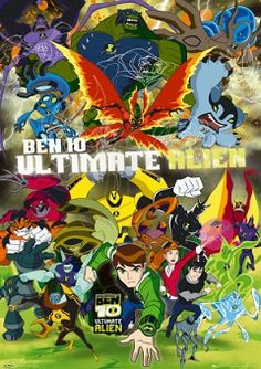 Ben 10 Ultimate Alien | Watch cartoons online, Watch anime online, English dub anime