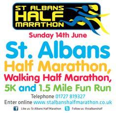 www.stalbanshalfmarathon.co.uk  #run #community #sport #fit #runchat #running #half #marathon #charity #headway #herts #stalbans #friends