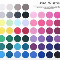 True Winter Palette