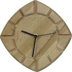 Pekné drevené hodiny na stenu, určené do interiéru. Vyrobené sú z kvalitného bukového masívu. Sú vo farbe dreva bez povrchovej úpravy, alebo mor Clock, Wall, Home Decor, Watch, Decoration Home, Room Decor, Clocks, Walls, Home Interior Design