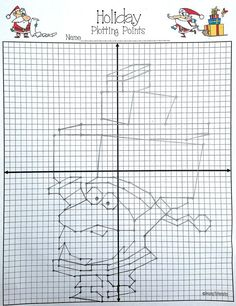 This would be such a fun activity for Christmas time in my Math & Algebra classes!