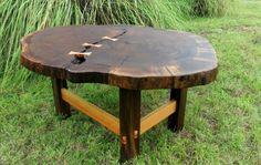 Cherry and Walnut coffee table  Bearfootcarpentry.blogspot.com