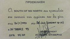 Μουσικός ΣουΡεαλισμός μειντ ιν ειτις ➑⓿'s ------------------------------------------ #music #eighties #story #band #fragilemagGR South of No North http://fragilemag.gr/80s-polaroid/