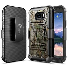 NageBee Galaxy S7 Active Case Heavy Duty Armor Shock Proof Dual Layer Swivel Belt Clip Holster with Kickstand Combo Rugged Case for Samsung Galaxy S7 Active 2016 Release  Camouflage -- To view further for this item, visit the image link.
