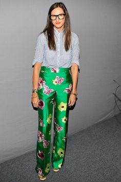 Me encanta la tela y la forma del pantalón!!!!!!!!!!!!!