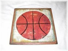 Basketball Sports Wall Art Sign Boys Bedroom Decor by The Little Store Of Home Decor, $14.99