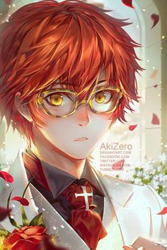707 from Mystic Messenger Art by AkiZero